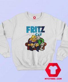Fritz The Cat Retro Cartoon Unisex Sweatshirt