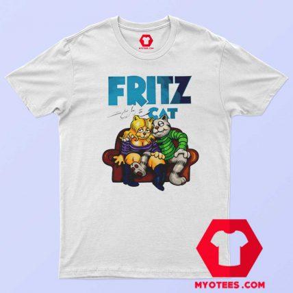 Fritz The Cat Retro Cartoon Unisex T Shirt