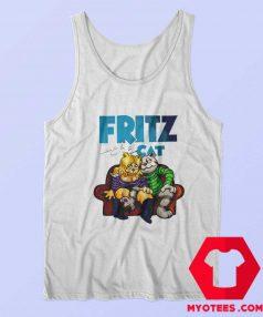 Fritz The Cat Retro Cartoon Unisex Tank Top