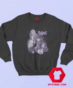 Funny Bratz Purple Tonal Wash Unisex Sweatshirt