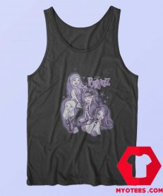 Funny Bratz Purple Tonal Wash Unisex Tank Top