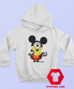 Funny Minion Cosplay Mickey Mouse Hoodie