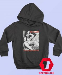 GG Allin You Give Love a Bad Name ALbum Hoodie
