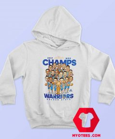 Golden State Warriors NBA Champs Caricature Hoodie