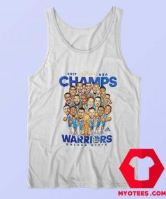 Golden State Warriors NBA Champs Caricature Tank Top