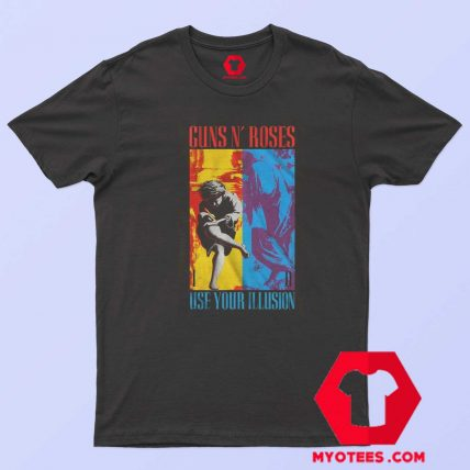 Guns N Roses Use Your Illusion Album Art T Shirt