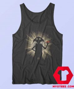 Harry Potter Dobby Flash Fitted Unisex Tank Top