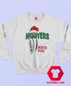 Hooters North Pole Santa Christmas Sweatshirt