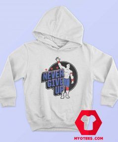 John Cena Never Give Up Illustrated Hoodie
