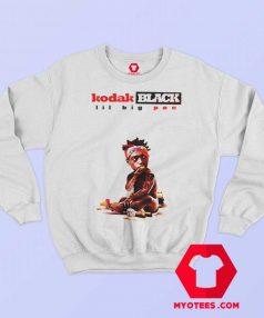 Kodak Black Lil Big Pac White Unisex Sweatshirt