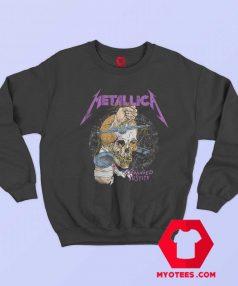 Metallica Damaged Justice 88 Tour Sweatshirt