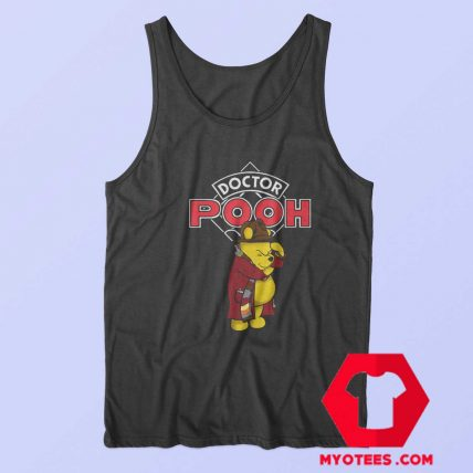 Parody Doctor Who And Winnie The Pooh Tank Top