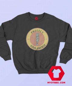 Protect Your Energy White Sage Unisex Sweatshirt