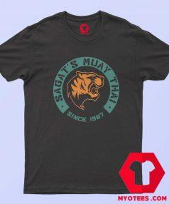 Street Fighter Sagat Muay Thai Since 1987 T Shirt