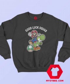 Super Mario Good Luck Squad Unisex Sweatshirt