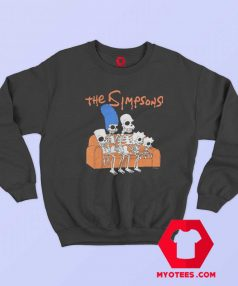 The Family Simpsons Skeleton Unisex Sweatshirt