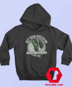 The Guardians Of Galaxy Gamora Green Hoodie