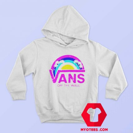 Vans Off The Wall Rainbow Palms Unisex Hoodie