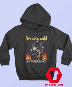 Vintage Running Wild Under Jolly Roger Hoodie