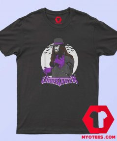 WWE Vintage Undertaker With Logo T Shirt