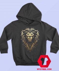 Warcraft Logo Alliance Metallic Unisex Hoodie