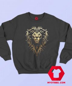 Warcraft Logo Alliance Metallic Unisex Sweatshirt