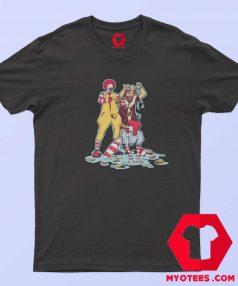 Wendys Burger King Mcdonalds Funny Twerking T Shirt