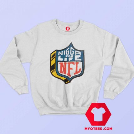 4Hunnid NFL Logo Parody Unisex Sweatshirt