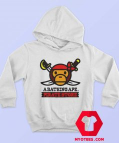 A Bathing Ape Bape Milo x Pirates Unisex Hoodie