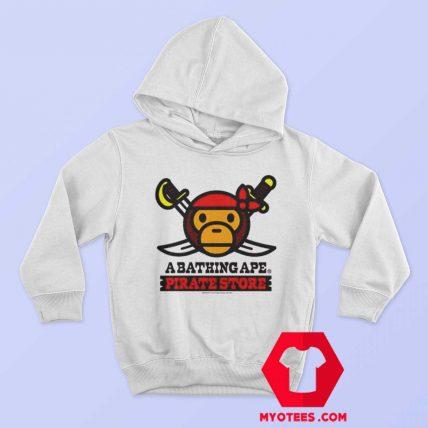A Bathing Ape Bape Milo x Pirates Unisex Hoodie