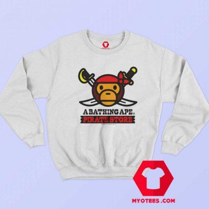 A Bathing Ape Bape Milo x Pirates Unisex Sweatshirt