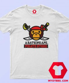 A Bathing Ape Bape Milo x Pirates Unisex T Shirt