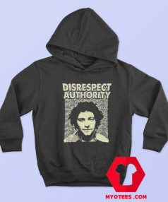 Abbie Hoffman Disrespect Authority Unisex Hoodie