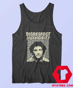 Abbie Hoffman Disrespect Authority Unisex Tank Top
