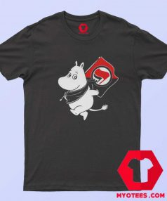 Antifa Moomin Anti Fascist Unisex T Shirt