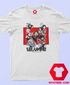 Attack On Titan Junior High Characters T Shirt