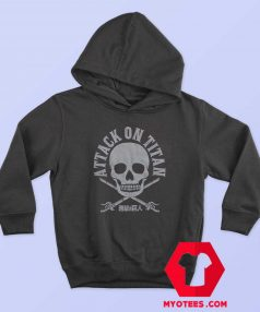 Attack On Titan Scout Skull Unisex Hoodie