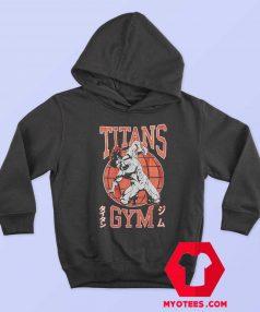Attack On Titan Titans Gym Unisex Hoodie