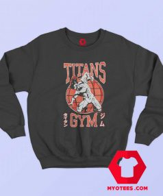 Attack On Titan Titans Gym Unisex Sweatshirt