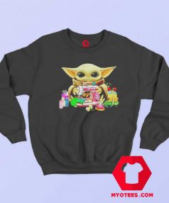 Baby Yoda Sewing Quilting Unisex Sweatshirt