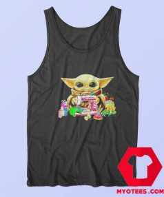 Baby Yoda Sewing Quilting Unisex Tank Top