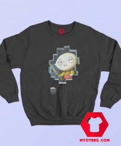 Cartoon Vintage Stewie Griffin Miner Unisex Sweatshirt