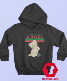Cute Cat Ballon Gucci Original Unisex Hoodie
