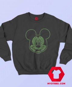 Cute Disney Mickey Mouse Mickey Clovers Sweatshirt