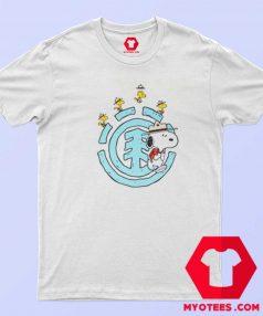 Cute Element x Peanuts Emerge Unisex T Shirt