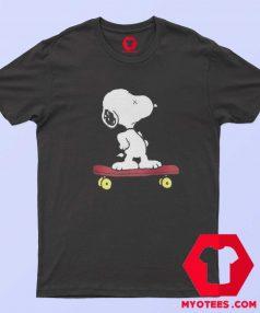 Cute KAWS x Calm Snoopy Peanuts T Shirt