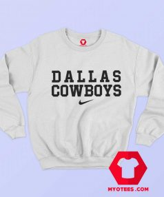 Dallas Cowboys Just Do it Nike Funny Sweatshirt