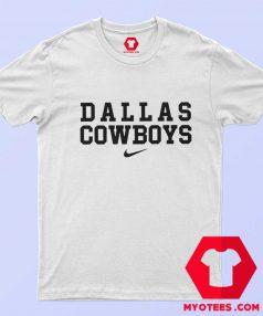Dallas Cowboys Just Do it Nike Funny T Shirt