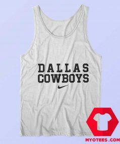 Dallas Cowboys Just Do it Nike Funny Tank Top