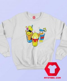 Disney Mickey Mouse Friends Smoothies Sweatshirt